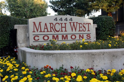 March West Commons Monument Sign